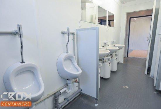 Tijdelijk Toilet Binnen : De sanitair units van cbox containers zijn zowel te koop als te huur